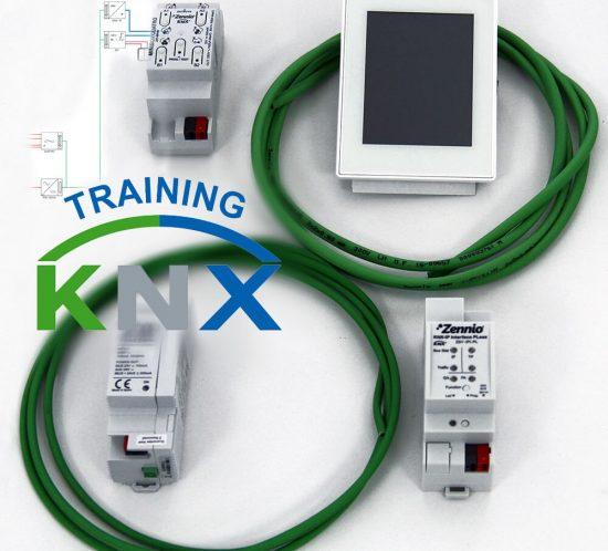 πακέτο υλικών knx training- εκπαίδευση